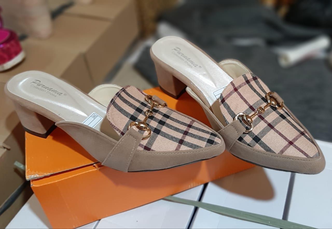 angel.id – sandal selop wanita cocok untuk main  100% real picture