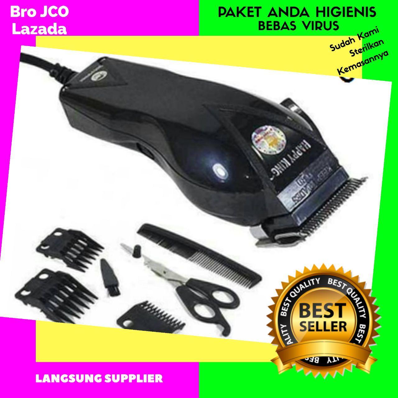 mesin cukur rambut – alat cukur rambut 1 set plus gunting zigzag sk-900 pro