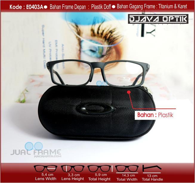 Kacamata Sport e0403 + Lensa minus plus silinder untuk pria dan . e04eab887f