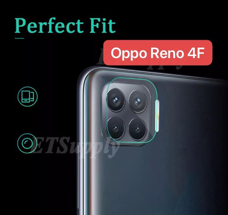 TEMPERD GLASS CAMERA OPPO RENO 4F 2020 TERBARU PELINDUNG SCREEN GUARD KAMERA KACA LENTUR BENING
