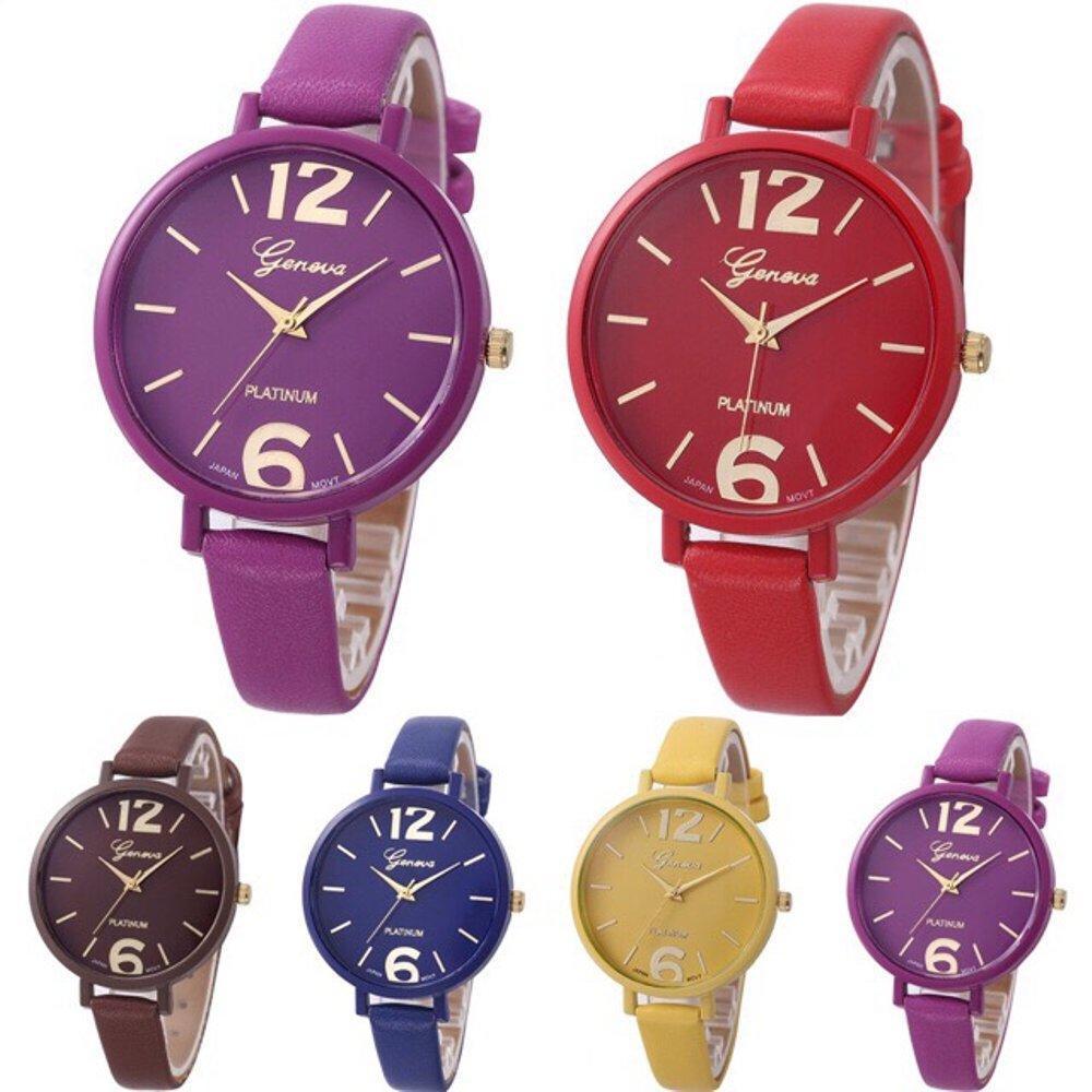EDW J12 Geneva Jam Tangan Wanita Analog Diamond Fashion Casual Lady Wrist Watch Jam Tangan Geneva