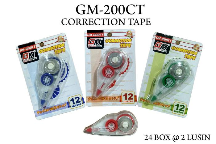 correction tape tip x gm200ct 12 meter