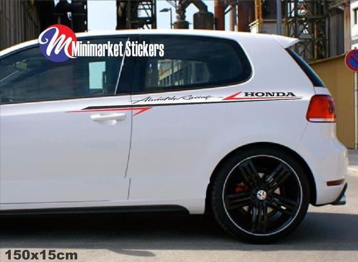 Diskon 10% Sticker List Stripe Mobil Honda Mobilio Brv Crv Jazz Brio Brv Hrv -