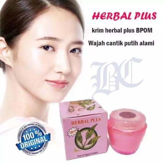 bc cod – cream herbal plus lightening cream original bpom – 15gr