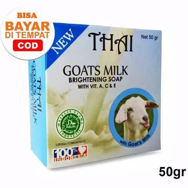 thai goats milk soap 50 gr sabun thai pemutih_lynn design