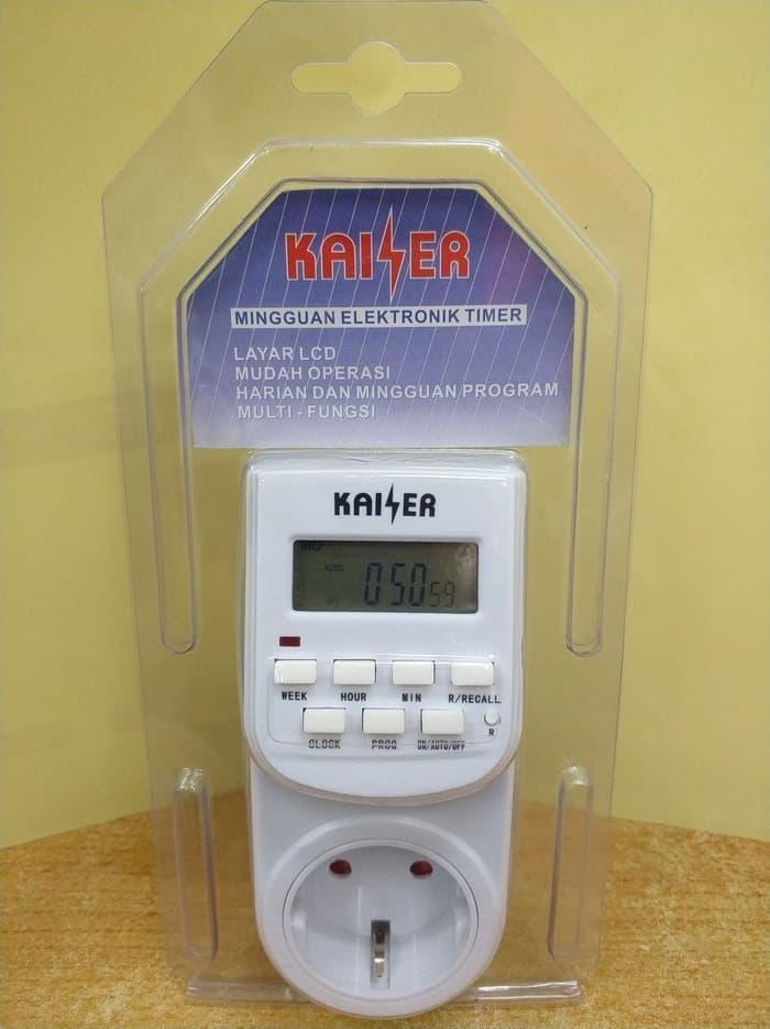 zero2hero – digital kaiser stop kontak timer digital kaiser stop kontak listrik kaiser timer digital stop kontak otomatis multi fungsi lcd display 20 program best er