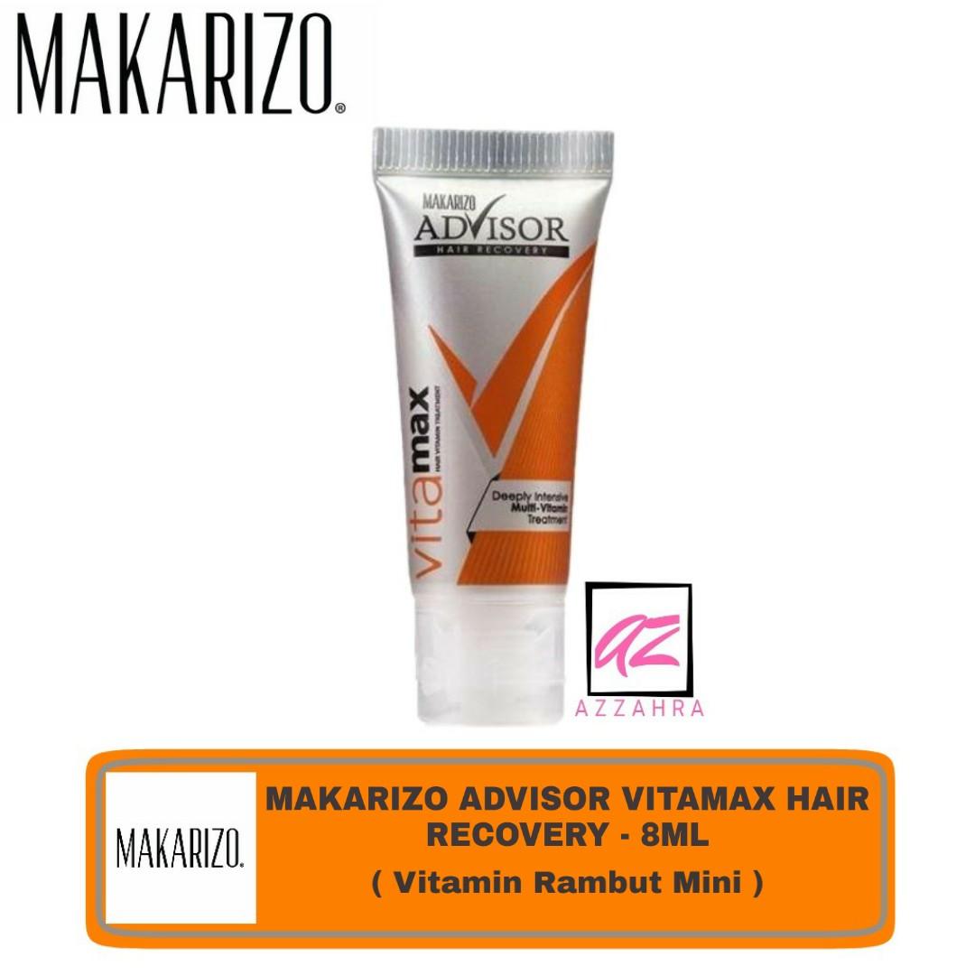 makarizo advisor vitamax – 8ml ( vitamin perawatan rambut )