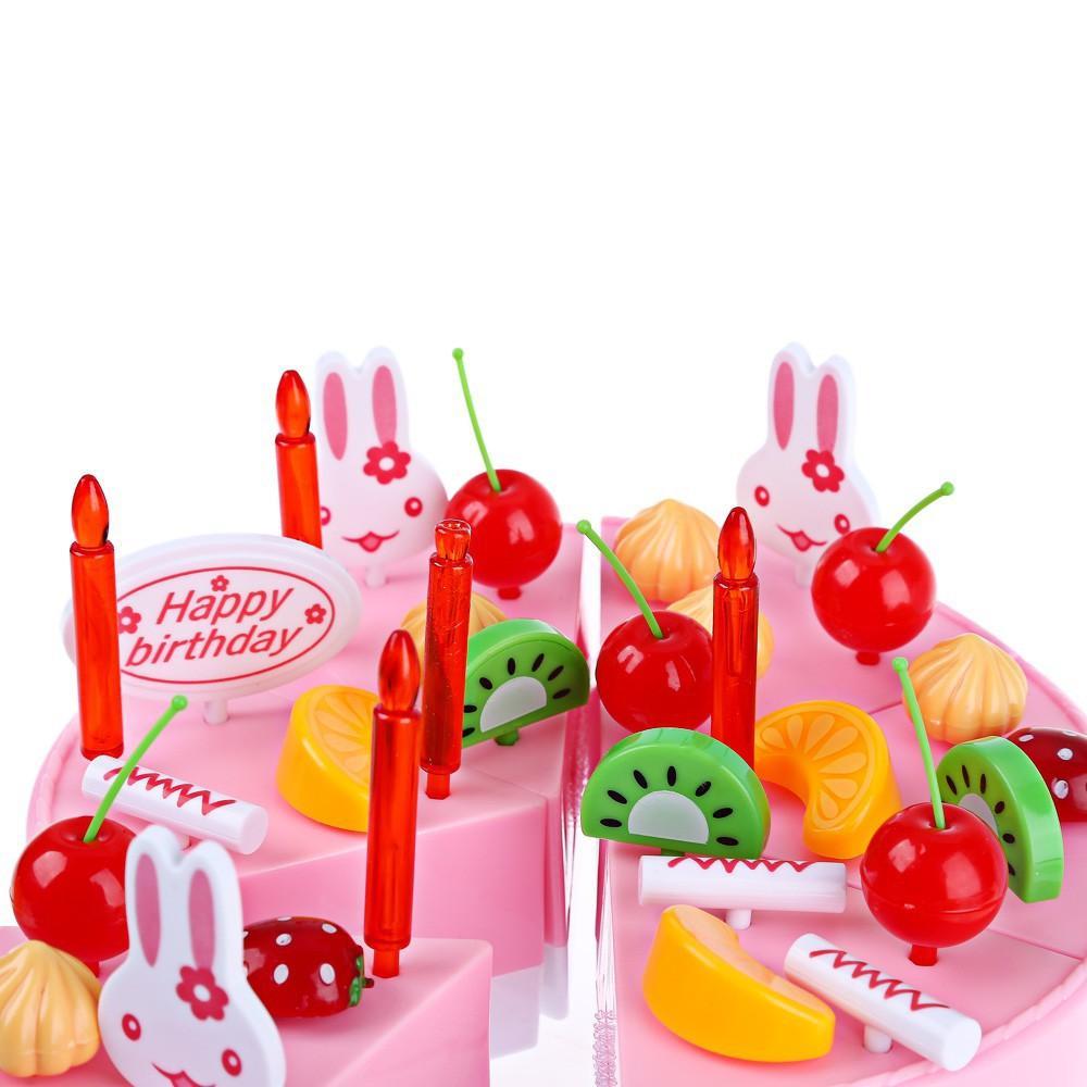 ... AA Toys Mainan Anak Diy Fruit Cake WARNA ACAK 37 Pcs - Mainan Kue Potong ...