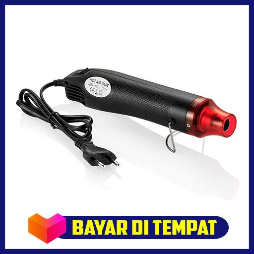 express heat gun electric hot air vinyl 220v 300w  -blower angin uap servis hp panas – blower servis elektronik