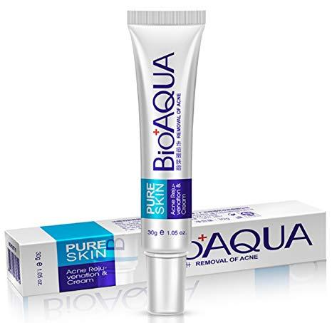 BIOAQUA Pure Skin Acne Removal Rejuvenation Cream Anti Jerawat 30g