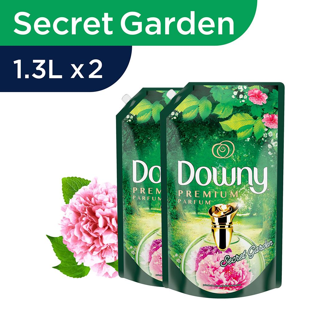 DOWNY SECRET GARDEN REFF 1.3 ltr - Paket Isi 2