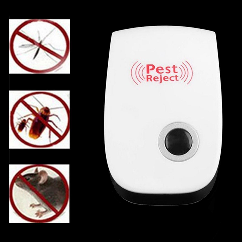 ... Vococal Ultrasonik Elektronik Anti Hama Serangga Nyamuk Kecoa Pembasmi Tikus - Intl - 3 ...