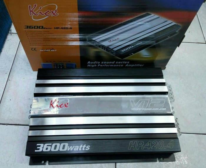 power kick hp-420 4 channel 3600 watt