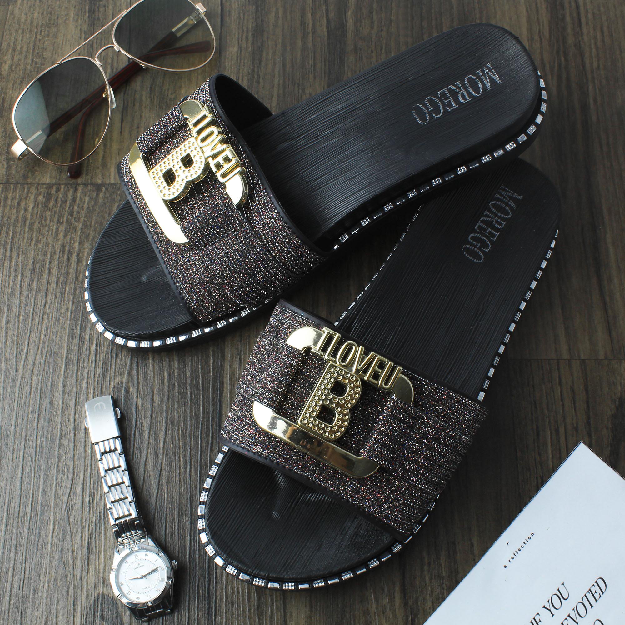 weitech sandal wanita bling2 modern sandal karet empuk selop – micu 1968-1