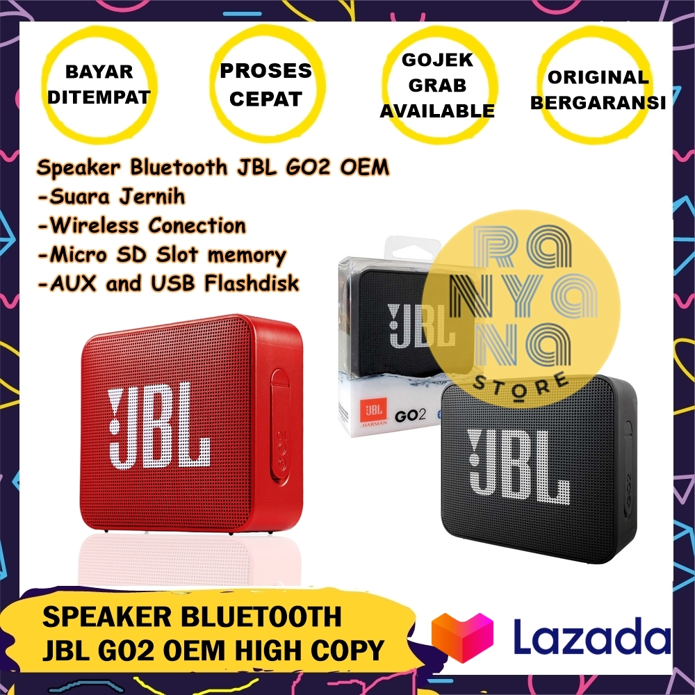 speker / speaker bluetooth jbl go2  terlaris – warna random