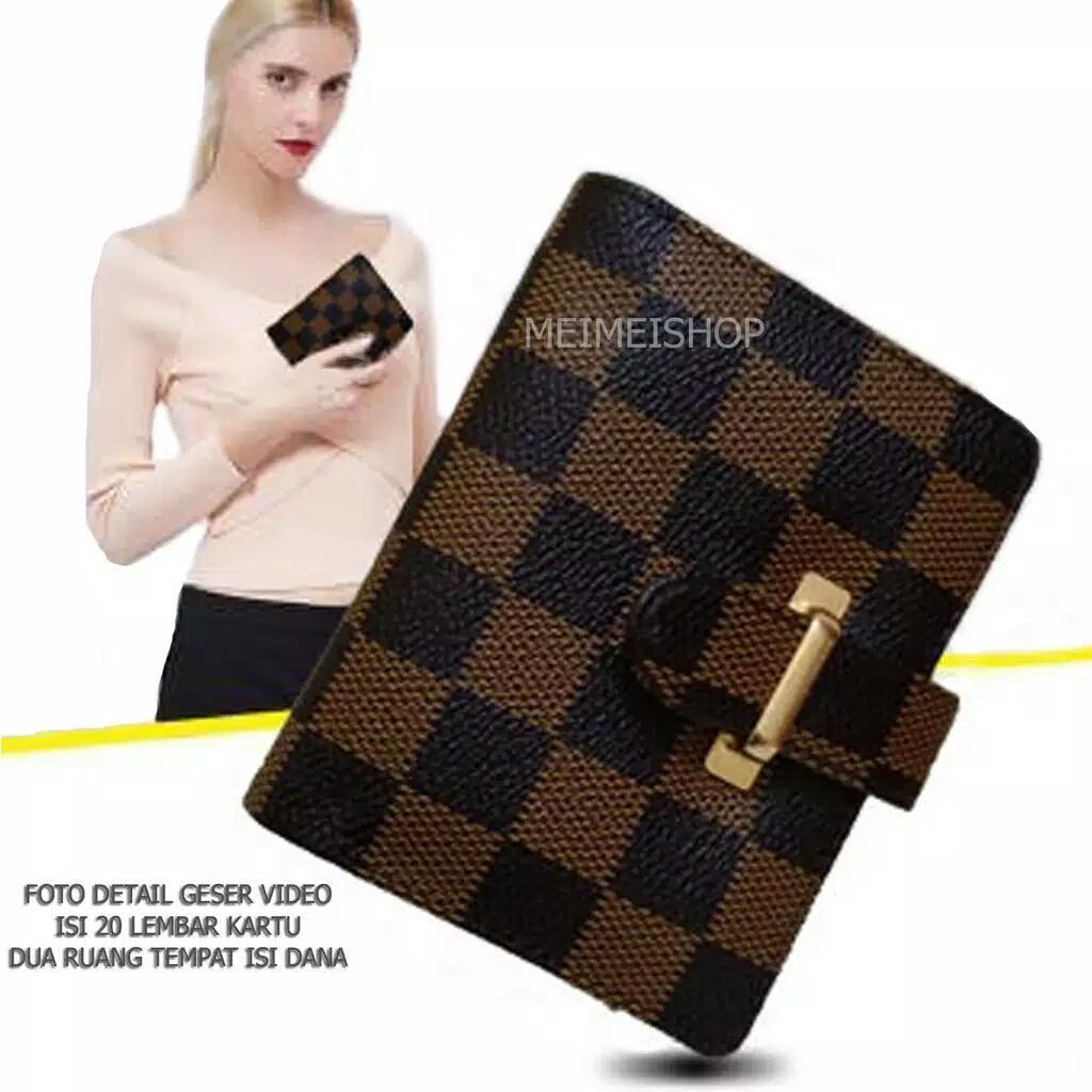 Dompet Wanita   Card Holder   Dompet Kartu Kulit Import   putrajaya212 280f64a99c