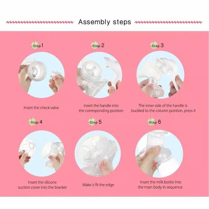 COD - [150 ML] Pompa Asi Manual Real Bubee Manual Breast Pump / Alat ...
