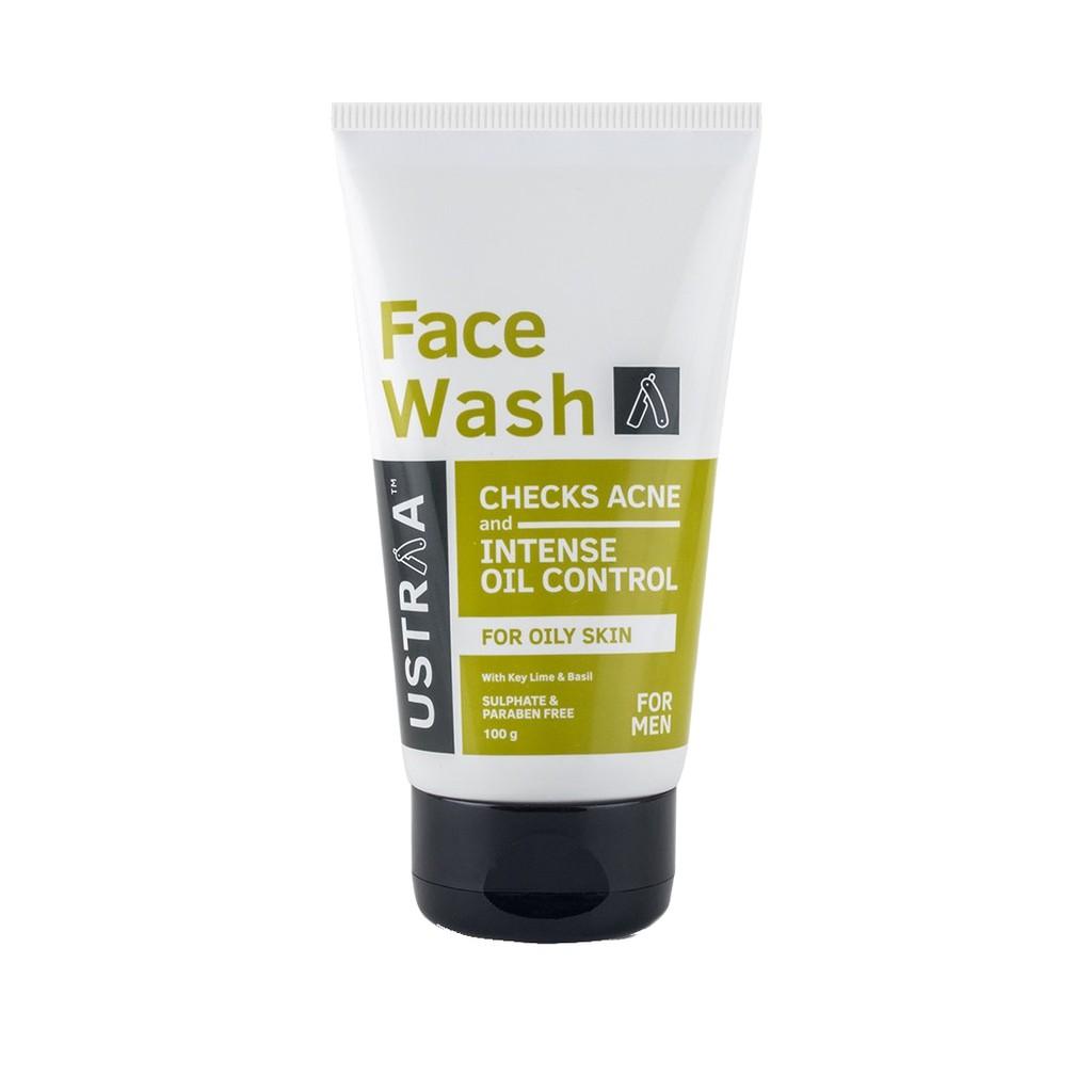 face wash oily skin