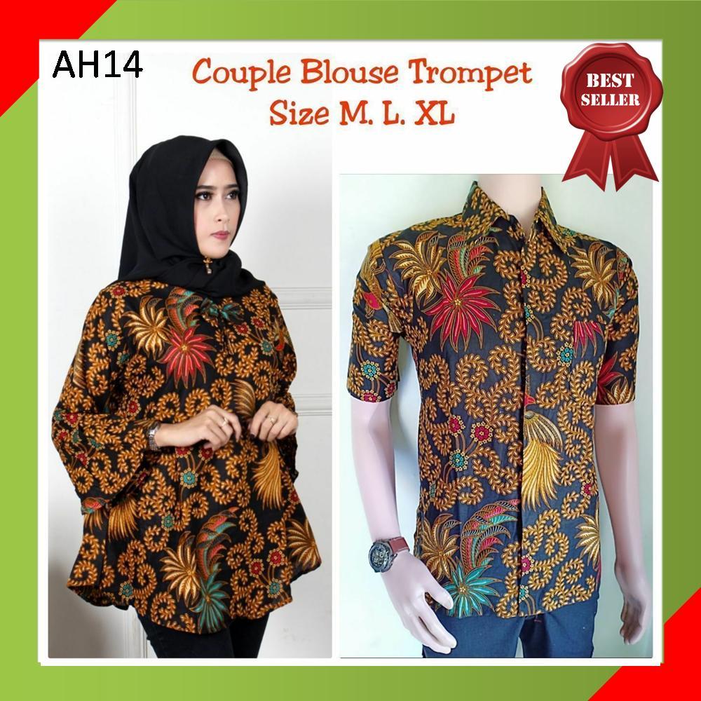 Review Baju Batik Pasangan Kemeja Batik Pria Dan Dress Batik Wanita