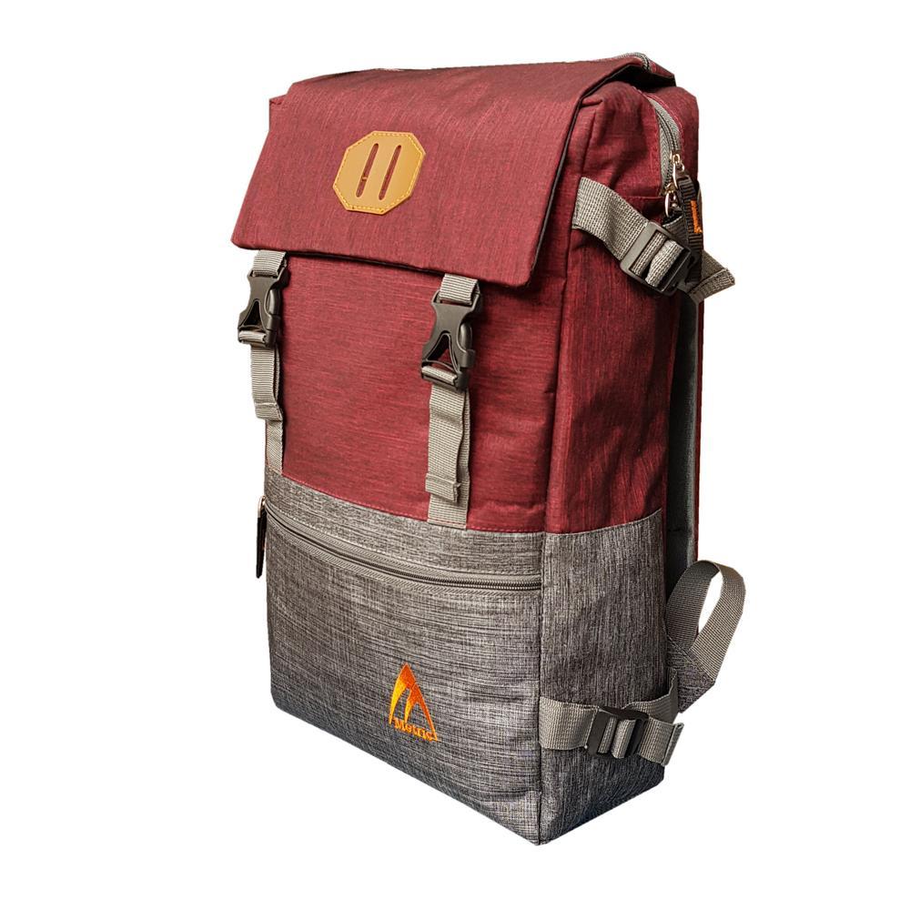 ... Metric New Tas Ransel Laptop 17 Inchi AA00050 Polyester Serat Nylon Original - Red - 3 ...