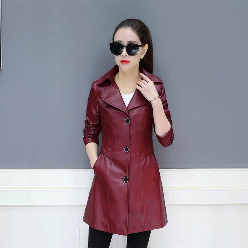 Detail Gambar Lin Mimpi pakaian 2019 model baru Gaya Korea pasang membentuk  tubuh casual wanita musim semi dan musim gugur model setengah panjang Jaket  ... 071b19eae9