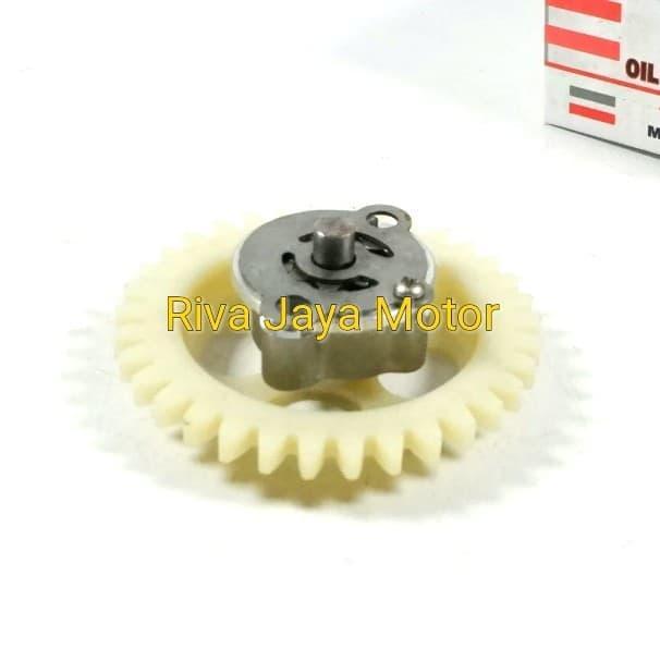 pompa oli oil pump + gear gigi jupiter mx lama mx new 135