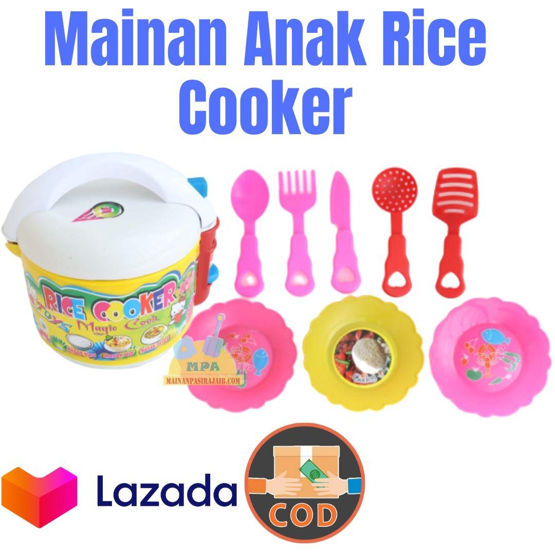 mainan anak perempuan mainan anak rice cooker / magic com masak masakan/