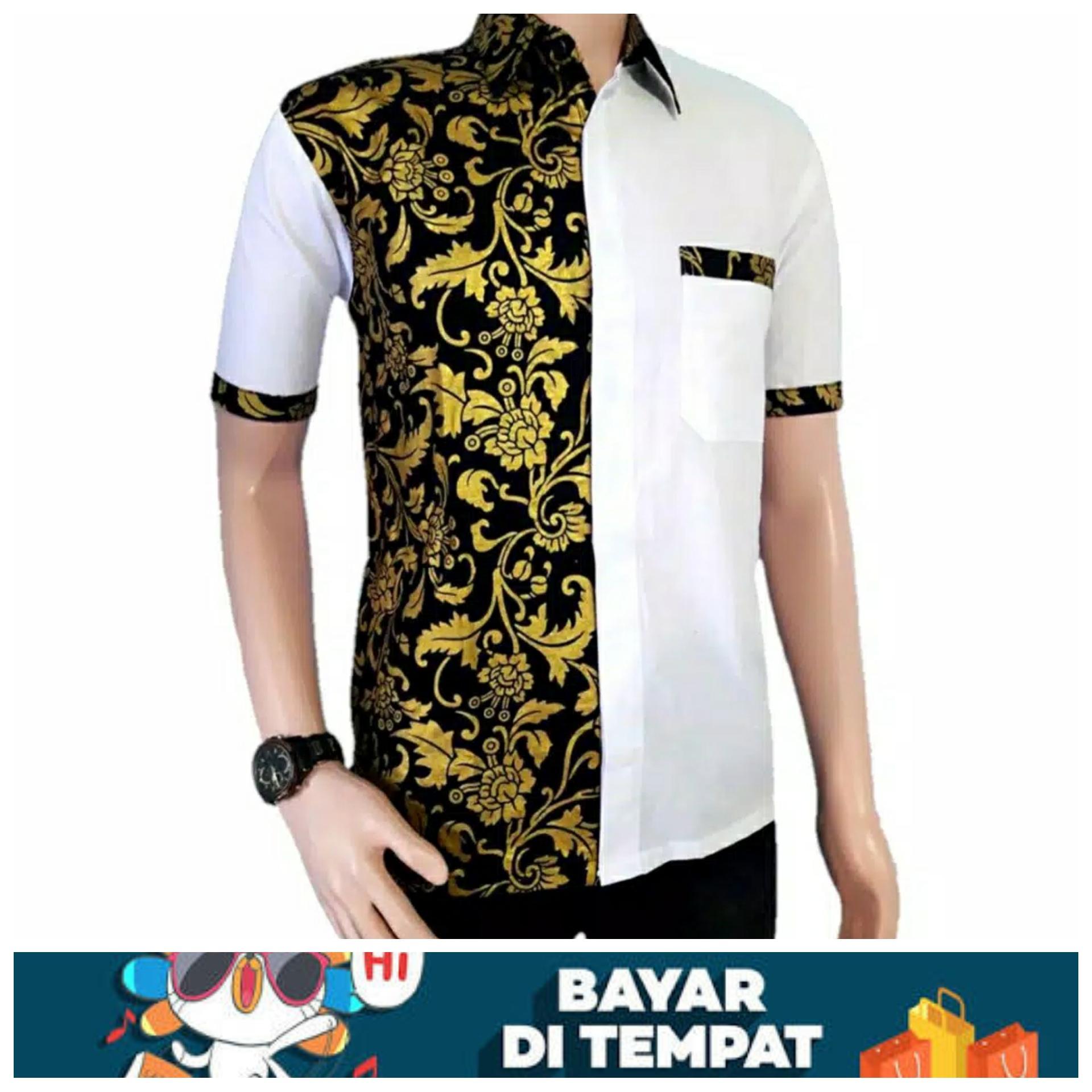 Review Kemeja Batik Wajik Warna Emas Model Baju Batik Terbaru Baju