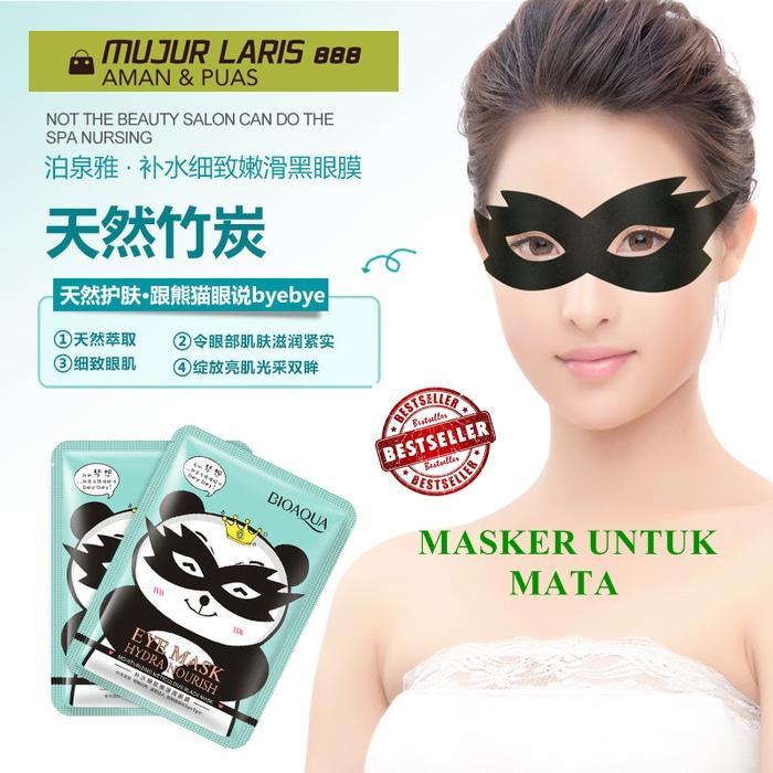 Terlaris Eye Mask Bio Aqua/Masker Untuk Mata Panda Bio Aqua Melembabkan Daerah Sekitar Mata