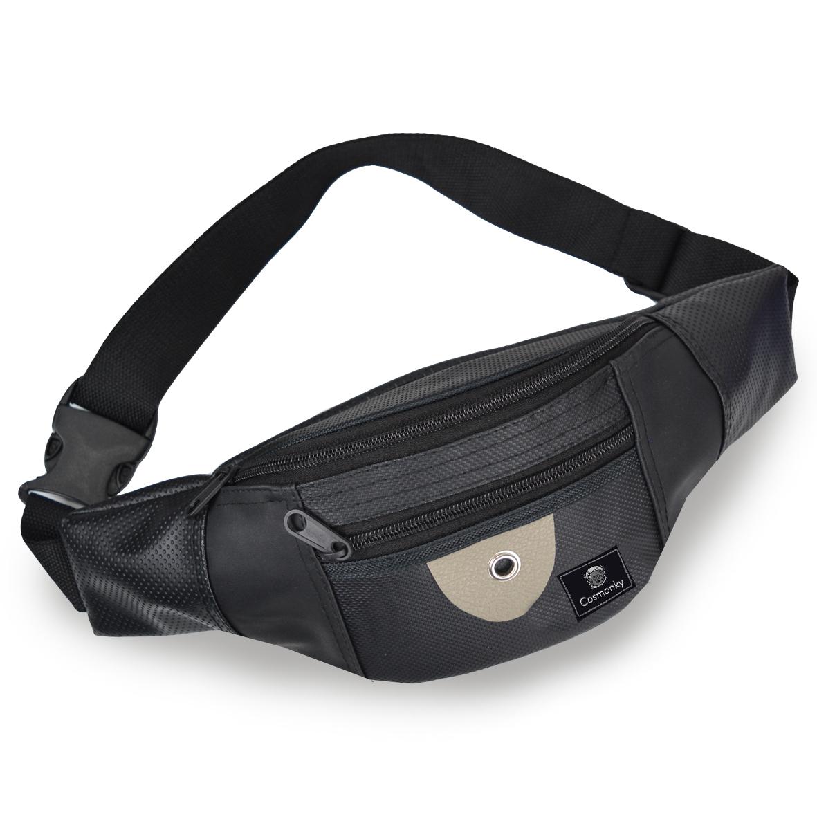 promo tas pinggang waistbag cosmonky lester/tas kulit / crossbody bags / tas selempang casual / tas organizer / tas /cosmonky
