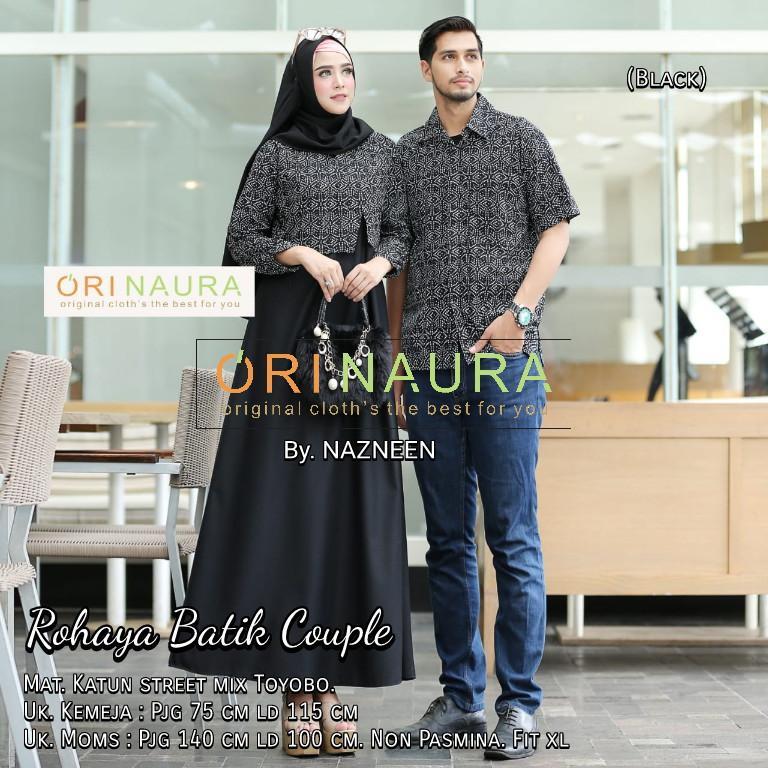 Review Couple Gamis Syari Baju Couple Batik Keluarga Gamis Dan Harga