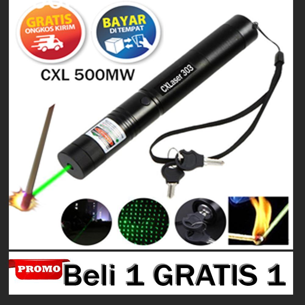 [gratis 1] original gren laser pointer jarak hingga 22 kilometer