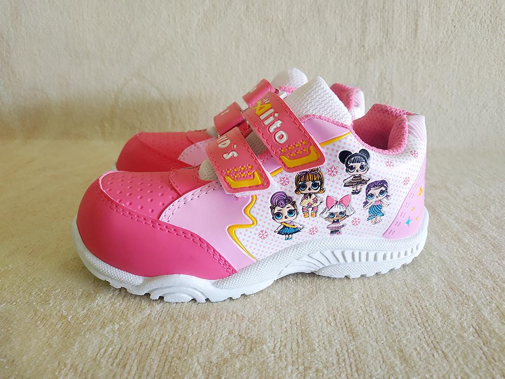 sepatu / sepatu anak / sepatu  tk altto lol  pink 28 – 30