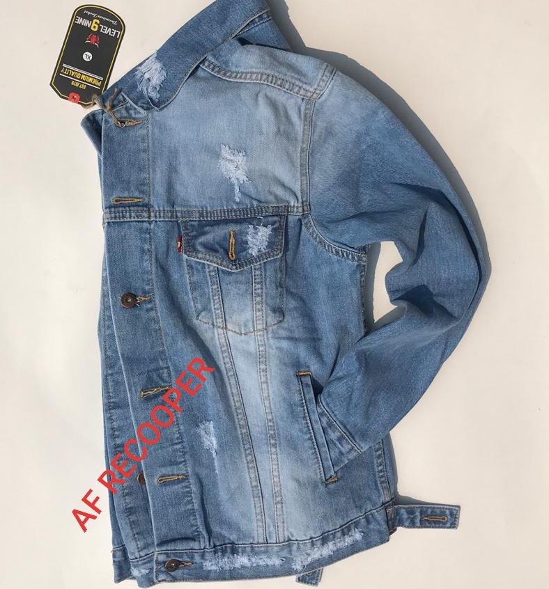 promo/jaket leviss terlaris /jaket jeans denim/jaket jeans pria distro/jaket jeans pria /jaket jeans premium/jaket jeans pria sobek-sobek/af recooper