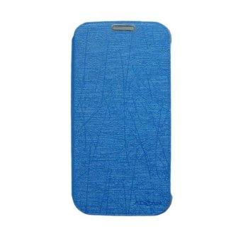 Advan Flip Cover S4F- Biru Muda