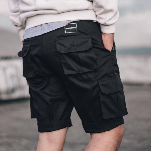 cargo pendek  pria america jeans