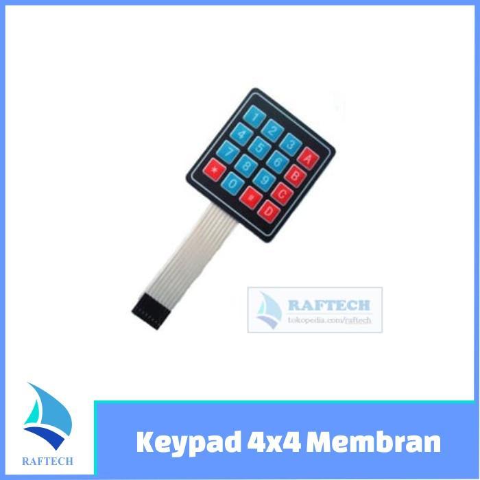 Review 12 Kunci Mcu Keypad Tombol Membran 4x3 Matrix Array