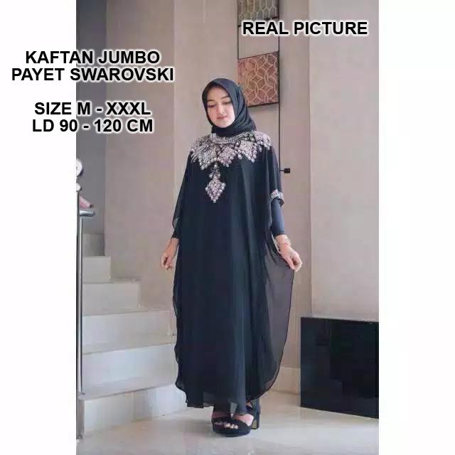 heritage kaftan gamis real pict baju gaun kebaya pesta cape party hijab dress bordir 3d payet mutiara mewah premium kondangan elegan modern wisuda remaja muslimah muslim wanita jumbo big size besar xl xxl xxxl 3xl ihthalia