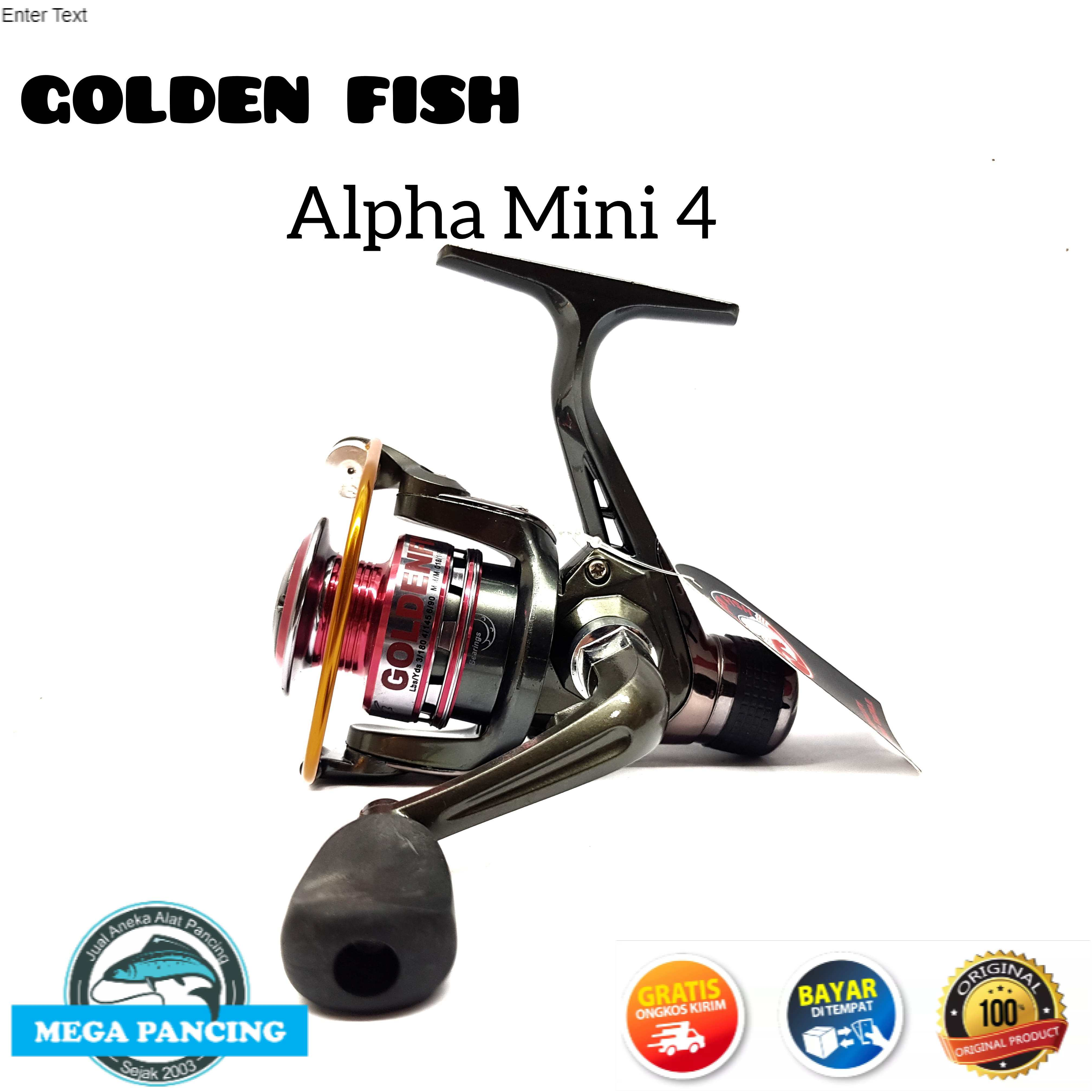 reel pancing golden fish alpha mini 4