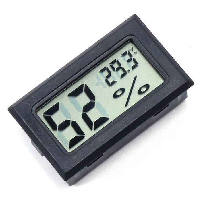 Digital Higrometer Termometer alat pengukur kelembaban suhu udara