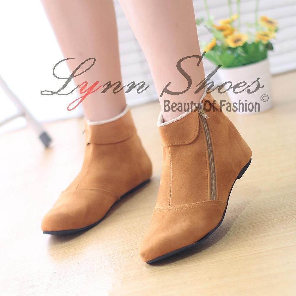 lynn boots wanita bo5cck coklat