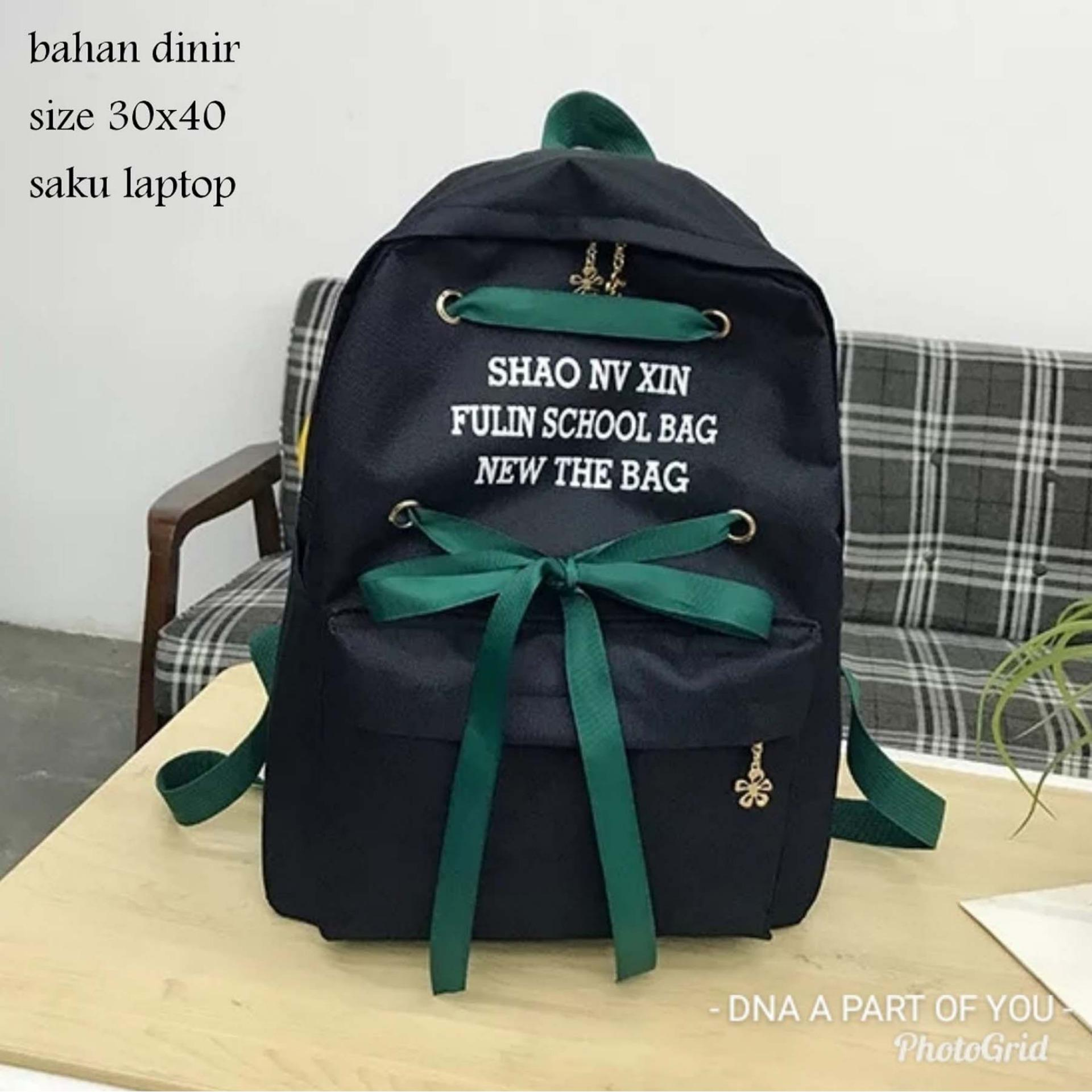 Amaryllis Backpack Korean Style DNA SHAO / Tas Ransel Wanita / Tas Ransel Pria / Tas Ransel Anak / Tas Sekolah Anak / Tas Sekolah Korean Style