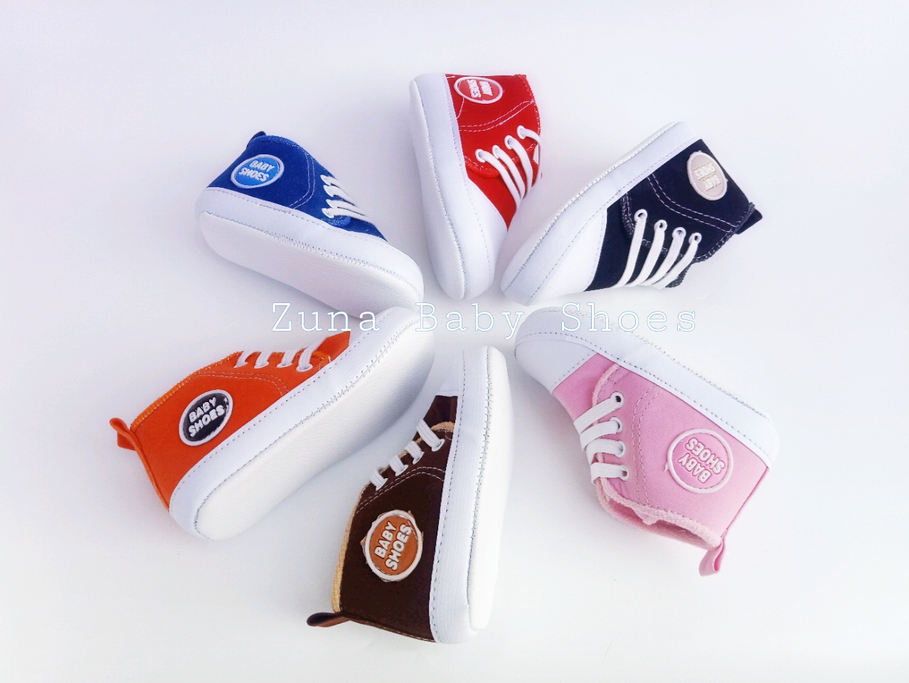 broekds sepatu bayi sneaker perempuan laki-laki (0-14 month) sepatu anak bayi prewalker tali 4