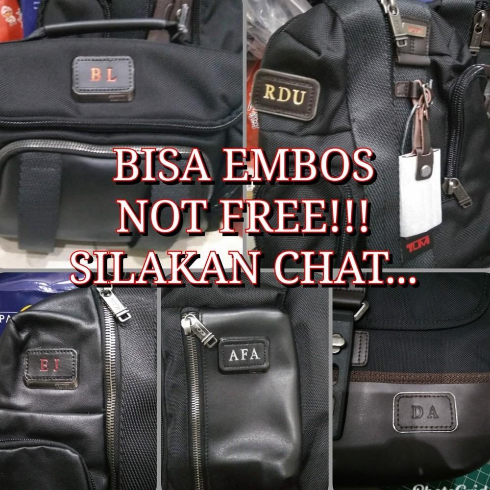 Detail Gambar JASA Embos Leather 2 - 3 Huruf Terbaru
