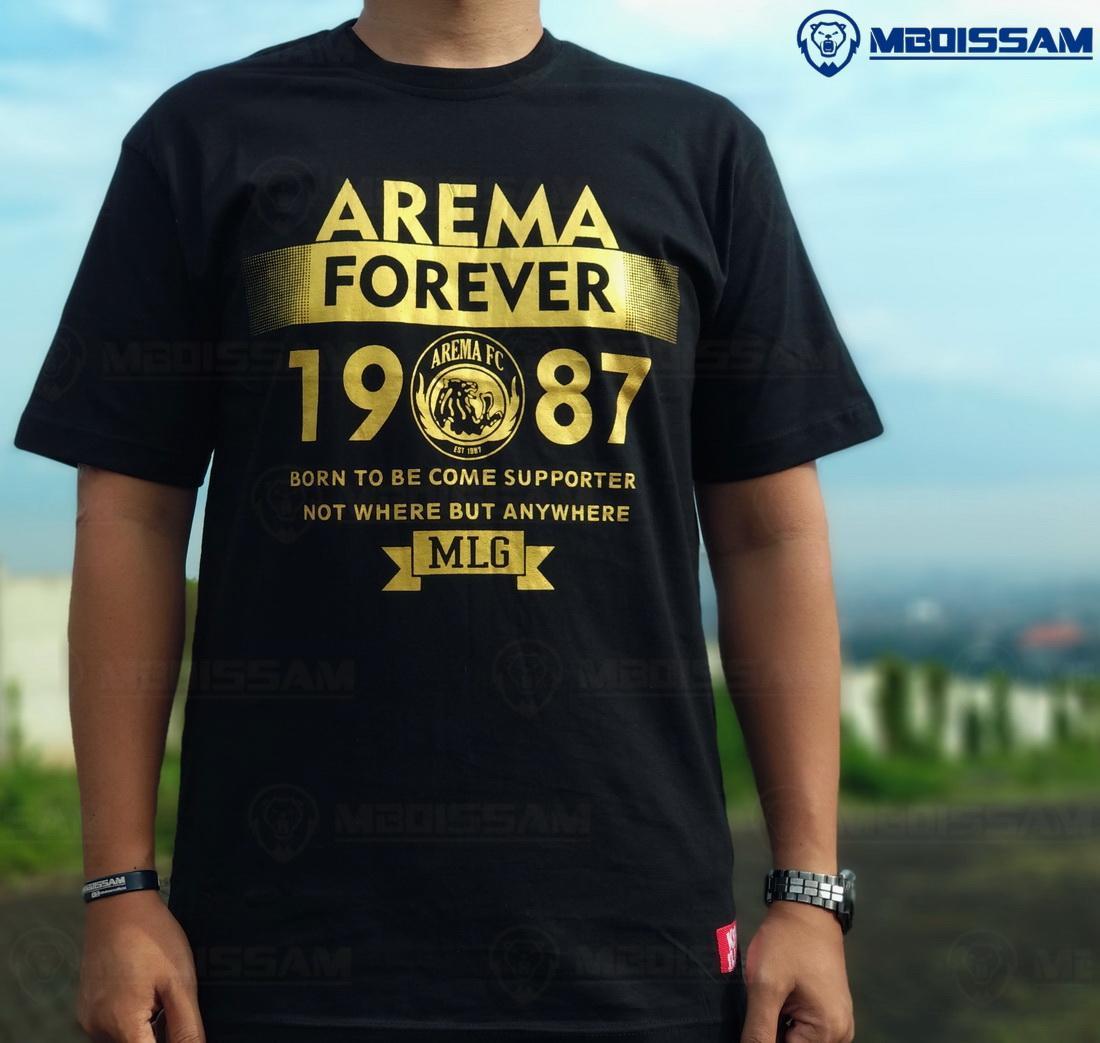 Baju kaos distro Arema fc suporter aremania aremanita murah bahan katun KC52