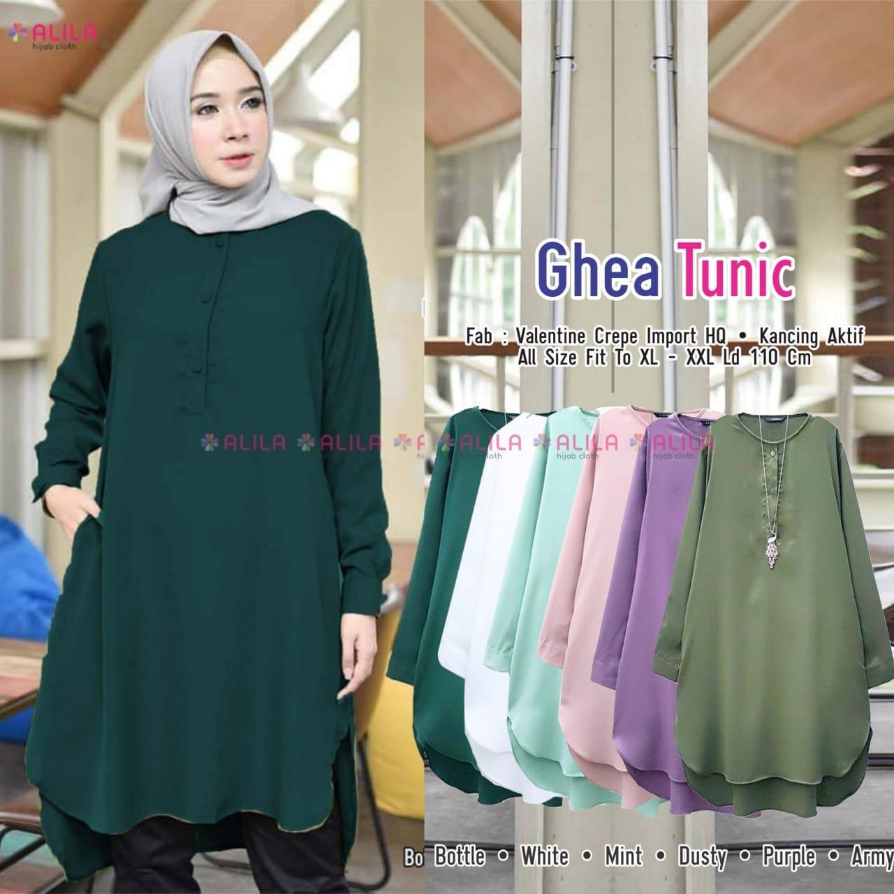 Review Ghea Tunik Premium Baju Tunik Modern Tunik Modern Baju Tunik