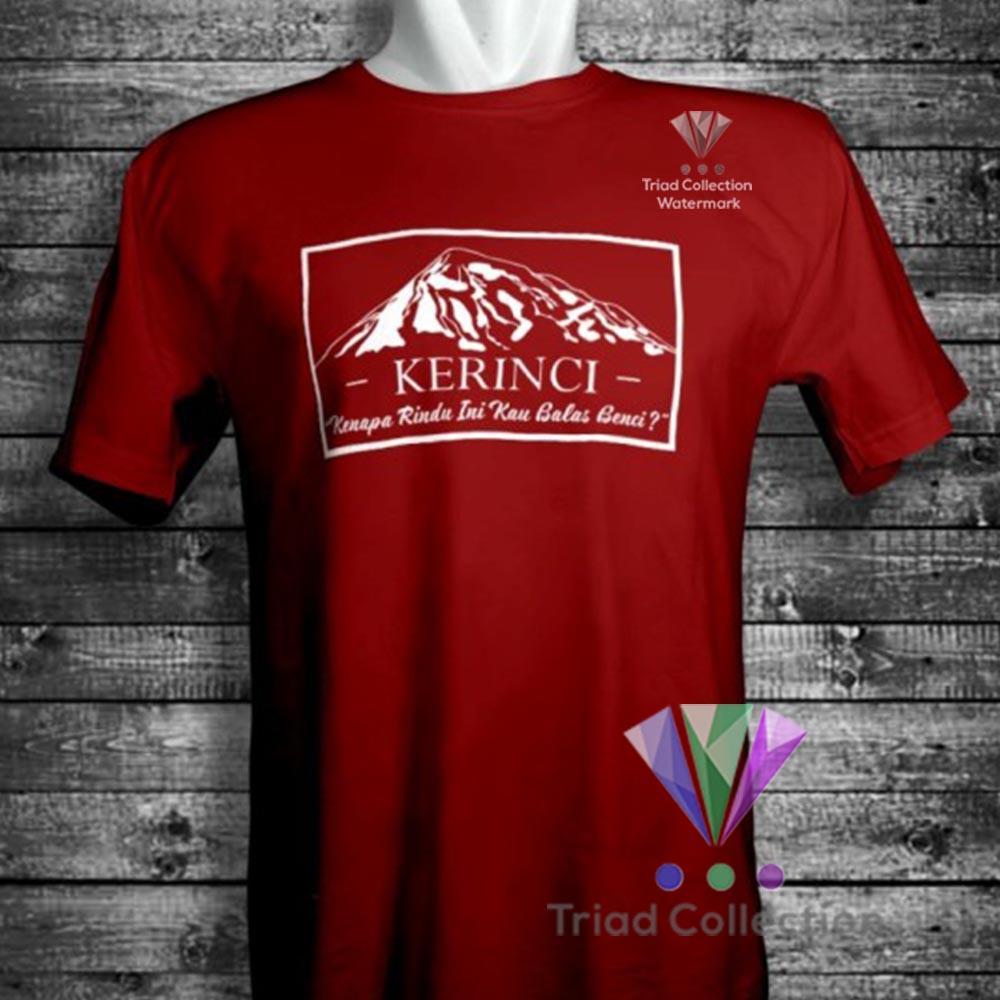 Kaos Pendaki Gunung KERINCI MOUNTAIN Premium Distro Tshirt Adventure Baju Outdoor Hiking - 681