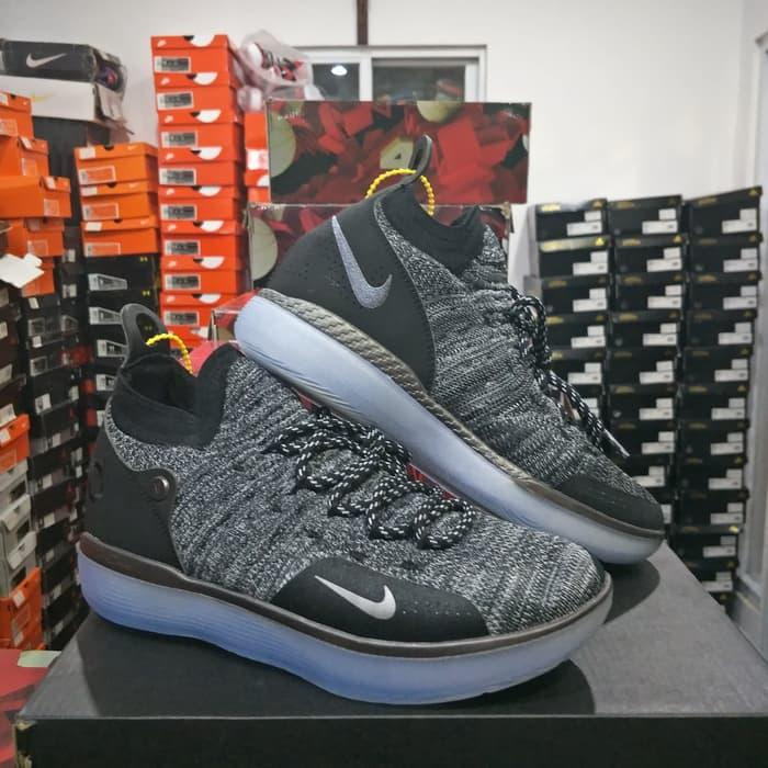 Diskon Besar Nike Resmi Kevin Durant 11 Orange Hitam Diskon Pria ... 4122a042a9