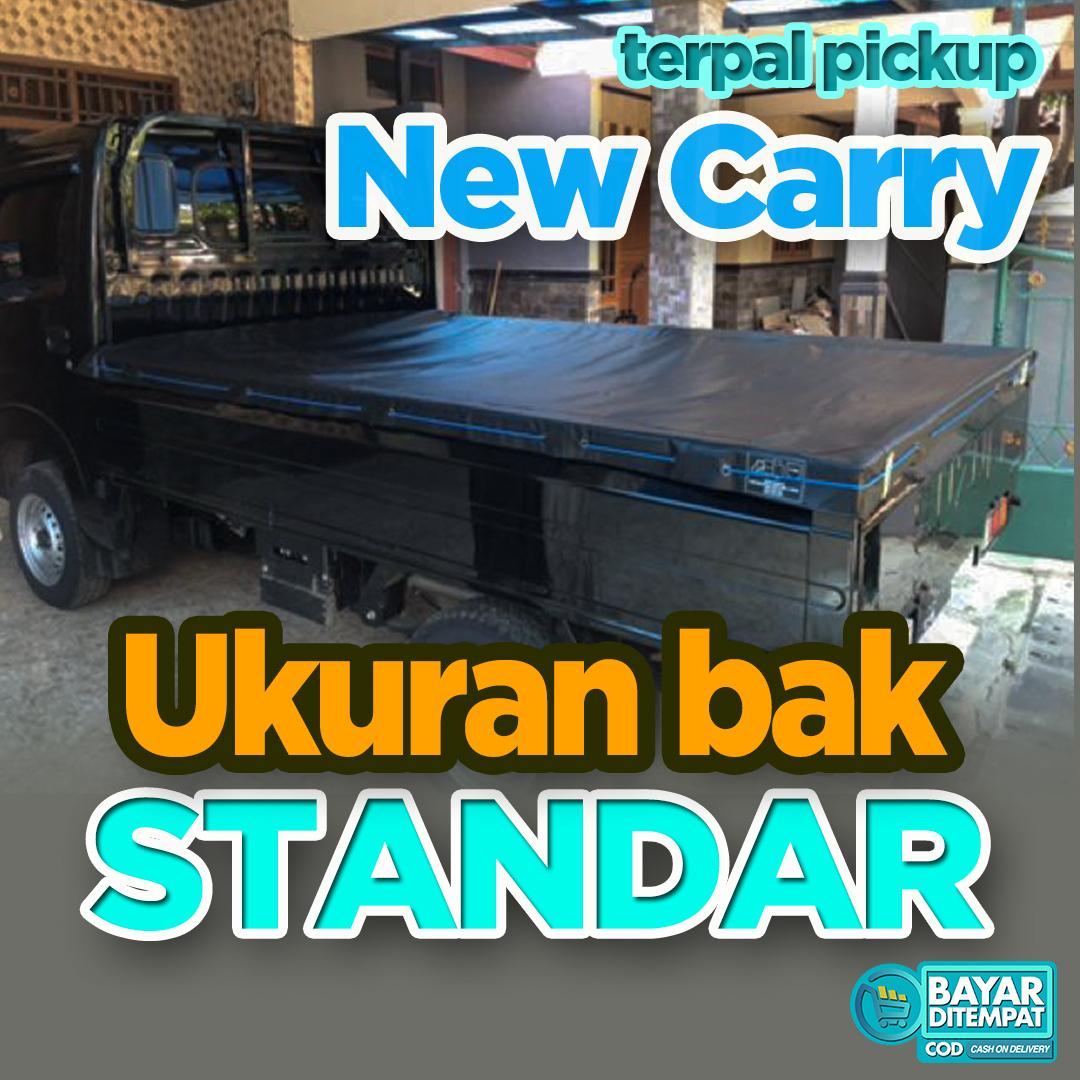 cover terpal mobil pickup suzuki new carry bak standar bak lebar