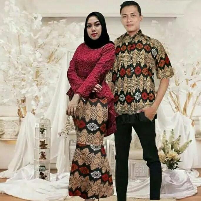 Review Ema Shope Baju Couple Kemeja Batik Kebaya Brukat Rok Duyung